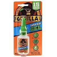 Gorilla 7600101-2 Super Glue Gel,15 g