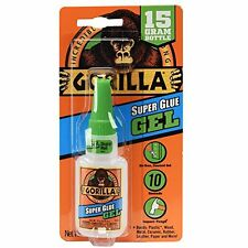Gorilla 7600101-2 Super Glue Gel,15 g