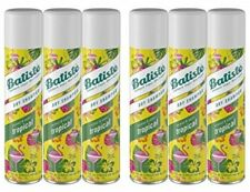 6 x BATISTE Instant Hair Refresh DRY SHAMPOO, TROPICAL 6.73 oz 200mL - New&Fresh