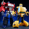 KBB Transformers OP Optimus Prime G1 IDW NA Bumblebee Figure Kids Toys In Stock