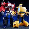NEW KBB Transformer OP Optimus Prime G1 IDW NA Bumblebee Figure Kid Toy In Stock