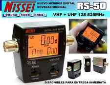 Medidor de SWR y potencia NISSEI  RS-50