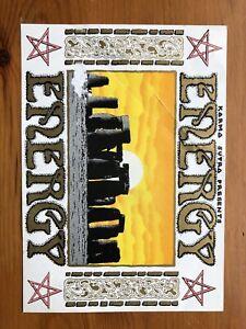 Rave Flyer Energy Eclipse 1991