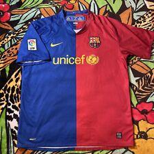 Rare Vintage Nike FC Barcelona Futbol Soccer Jersey Mens Size XL