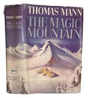 1939, FIRST ONE VOLUME EDITION, THOMAS MANN, THE MAGIC MOUNTAIN, HCDJ