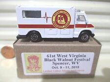 Maisto 2015 61st Black Walnut Festival Spencer WV ROANE COUNTY Ambulance NewBoxd