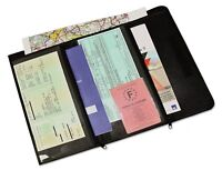 Car Documents Wallet Holder Organizer Real Leather Purse Pouch Travel Safety