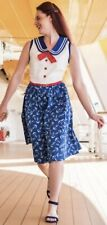 2021 Disney Cruise Line Dress Shop Sailor Style Dress Adult New Extra Small XS