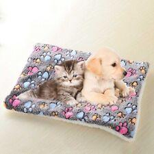 Pet Blanket Cat Dog Bed Cushion tress Kennel Plush Winter Sleeping Plsei UgDfE