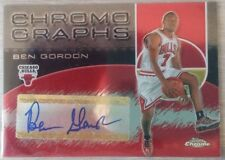 2004-05 Topps Chrome Autographs #BG Ben Gordon C (Bulls)