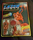 Lazer Force The Corps! HOT WIRE NEW Sealed Lanard 1994 Vintage Action Figure