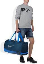 NIKE MAX AIR DUFFEL BAG MEDIUM L 58cm X H 33cm X W 29cm BNWT BLUE