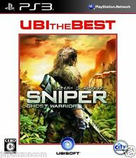 Used PS3 Sniper: Ghost Warrior SONY PLAYSTATION 3 JAPAN JAPANESE IMPORT