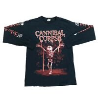 Rare 2007 Cannibal Corpse Butchered At Birth Long Sleeve T-Shirt Mens Size Small