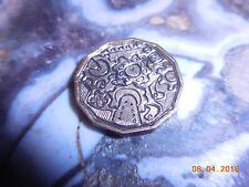 1962 Hobo Nickel Three Pence Gears Psychedelic Steampunk Art
