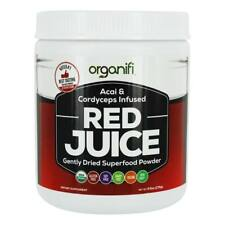 Organifi - Red Juice Acai & Cordyceps Infused Gently Dried Superfood Powder -