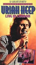 Uriah Heep - Live in London (VHS, 1999)