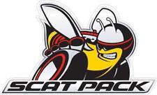 Dodge Scat Pack Hellcat Demon Wall Graphic Decal Sticker Man Cave Garage Decor