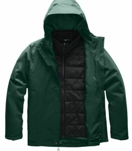 The North Face Carto Triclimate Hooded Jacket - Mens Night Green