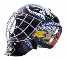 Franklin Sports NHL Anaheim Ducks GFM 1500 Goalie Face Mask - Black/White/Yellow