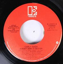 Rock 45 Carly Simon - Nobody Does It Better / After The Storm On Elektra