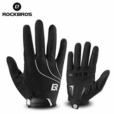 ROCKBROS Cycling Winter Gloves Long Full Finger Warm Sporting Gloves Black