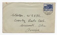 1935 SOUTH AFRICA Cover EAST LONDON To CINCINNATI OHIO USA SG117