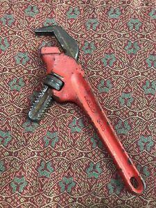 RIDGID E-110 Smooth Jaw Hex Offset Pipe Wrench Ohio USA Tool