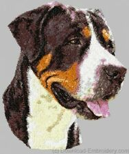 Embroidered Ladies Fleece Jacket - Greater Swiss Mountain Dog DLE1549
