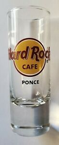 HARD ROCK CAFE PONCE SHOT GLASS **BRAND NEW**