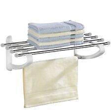 Badezimmer Regal WENKO Handtuchhalter Ablage Badregal Baderegal Handtuch