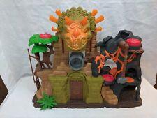 Imaginext Dino Fortress Dinosaur Temple Playset Fisher Price 2014 Mattel