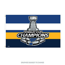 2019 Stanley Cup Champions 3x5 Flag St. Louis Blues