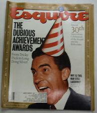 esquire magazine richard nixon & 30th anniversary januar 1992 052015 r