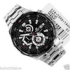 EFR-539D-1A Black Casio Men's Watch Edifice Brand-New 100M Chronograph