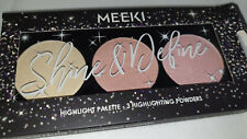 Meeki Highlight Palette 3 Highlighting Powders Born to Shine 3x5g