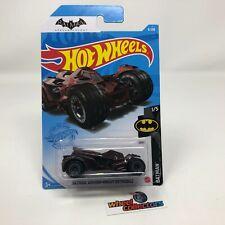 Batman Arkham Knight Batmobile #8 * Burgundy * 2021 Hot Wheels Case A * WF19