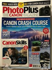 Photo Plus Canon Mag Crash Course Complete DLSR Guide Feb 2017 FREE SHIPPING JB