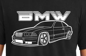 BMW E36 Halftone T Shirt Euro headlights coupe body kit spoiler wheels parts m3