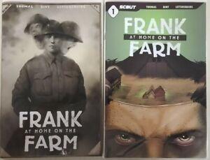 FRANK AT HOME ON THE FARM #1 COVER A , WEB VAR Scout THOMAS BINT LETTERSQUIDS