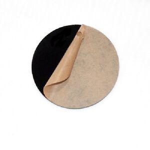 "(4 Pack) BLACK ACRYLIC PLEXIGLASS 1/8"" PLASTIC SHEET CIRCLE DISC 4"" DIAMETER"