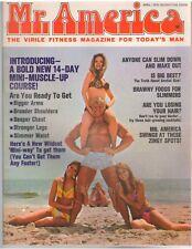 Mr America Bodybuilding Magazine DAVE DRAPER + Betty Weider 4-70