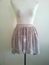 Summer Style! Nique size 6 brown & cream hi-lo skirt in excellent condition