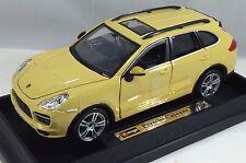 Bburago - 18-21056 - Porsche Cayenne Turbo Scale 1:24 - Yellow