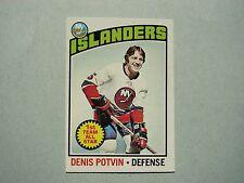 1976/77 O-PEE-CHEE NHL HOCKEY CARD #170 DENIS POTVIN NM SHARP!! 76/77 OPC