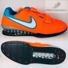Nike Romaleos 2 Olympic Weightlifting Mens  Powerlifting orange/blue sz 12.5