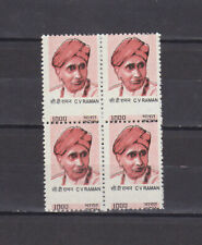 INDIA - 2008 10r C. V. RAMAN SG#2538 BLK-4 MNH PERFORATION SHIFTED