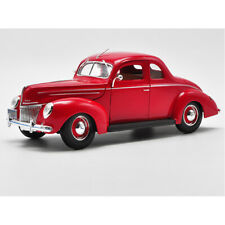 Maisto 1:18 Scale 1939 Ford Deluxe Coupe Diecast Car Model Red Model NEW IN BOX