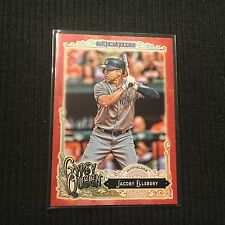 2017 TOPPS GYPSY QUEEN #39 JACOBY ELLSBURY *RED BORDER #3/10*  NEW YORK YANKEES