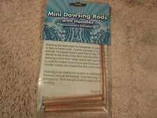 Mini Dowsing Rods for Divining Find Missing items, locate energy lines,artefacts